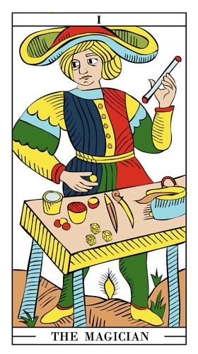 Magician - Tarot card meaning | Tarot cards