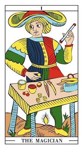 the magician tarot as feelings