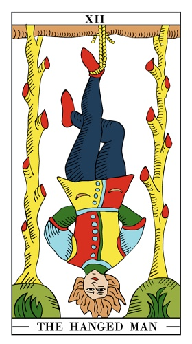 The Hanged Man - Monthly Tarot Card