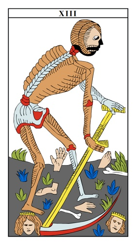 Death/Rebirth - Monthly Tarot Card