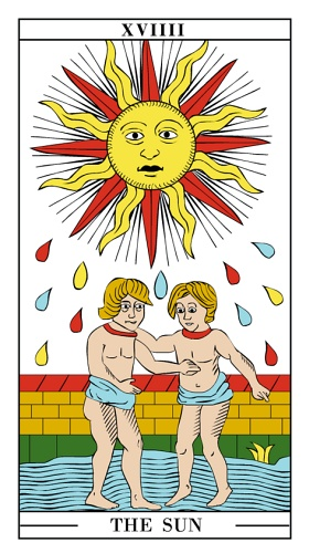 The Sun - Yearly Tarot Card