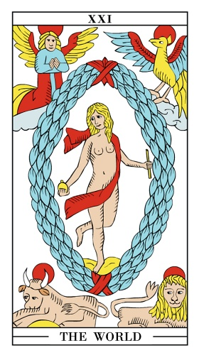 The World - Yearly Tarot Card