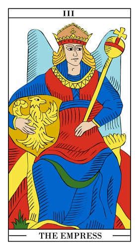 The Empress - Yearly Tarot Card