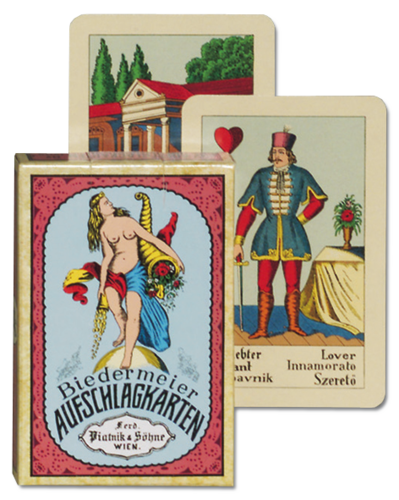 New Biedermeier fortune telling card deck