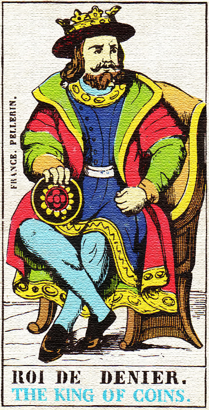 King of Pentacles - Tarot card meaning