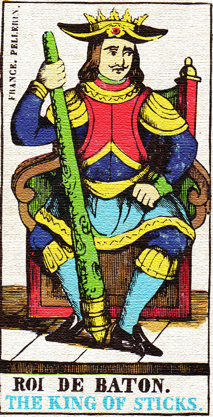 King of Wands - Tarot card meaning