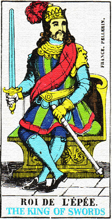 King of Swords - Tarot card meaning