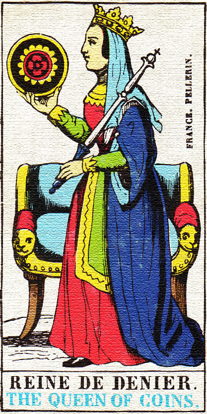 Queen of Pentacles - Tarot card meaning