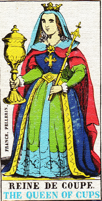 Queen of Cups - Tarot card meaning